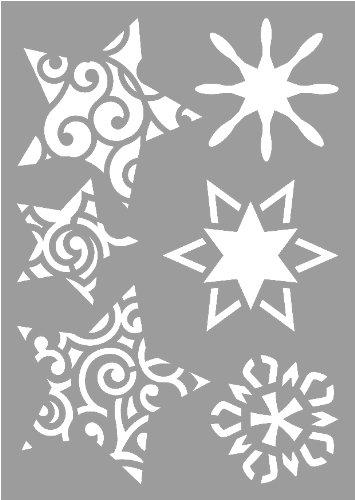 Vbs 3 Zeichen Schablonen Mal Schablone Din A6 Weihnachten Stencils