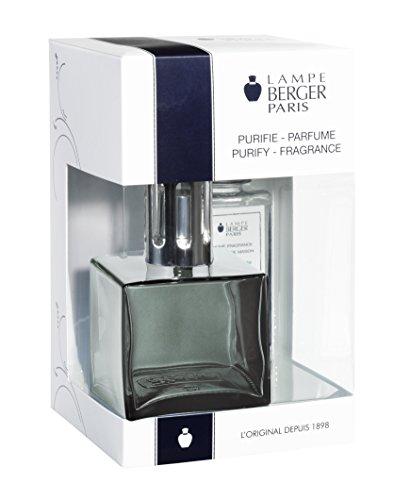 Black Onyx Cube (Lampe Berger 113705 Cube Giftset Onyx lamp Gift Set - Cube Onyx, Includes Fragrance Ocean Breeze 180ml / 6.08 Fl.Oz)