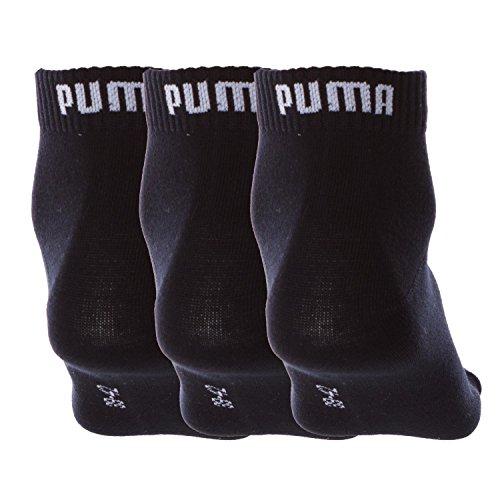 F891 Weiss Puma Quarter Socken Schwarz 3er Pack Rot wx1ZqpYg