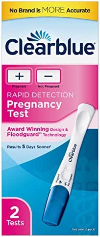 Clearblue Plus Pregnancy Test, 2 Pregnancy Tests