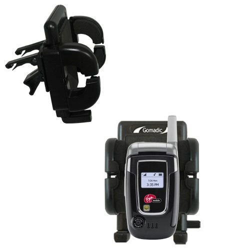 (Innovative Vent Cradle Vehicle Mount designed for the Audiovox Snapper 8915 - Adjustable Vent Clip Holder for Most Car / Auto Vent Systems)