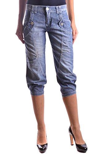 Femme MCBI242100O Bleu Jeans Coton Pinko Pq1w4xBdP