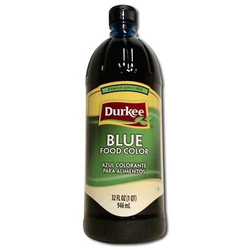 Durkee Blue Food Color , -- 6 Bottle Per Case, 32 Ounces Per Bottle. by Durkee