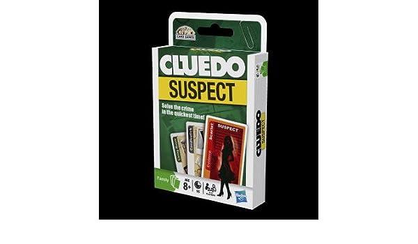 Cluedo Suspect - Juego de cartas: Amazon.es: Juguetes y juegos