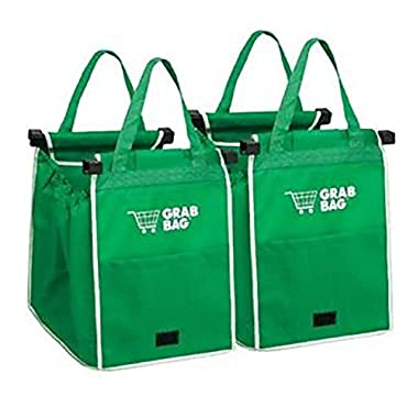 Original Authentic Grab Bag Reusable Grocery Bag, 2 pack