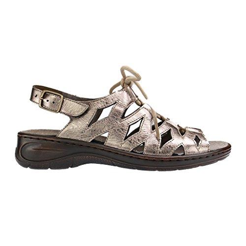 ara - Sandalias de vestir para mujer Gold/Metallic