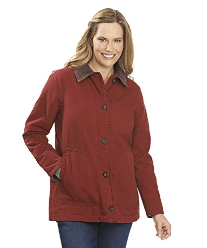 Woolrich Women's Dorrington Barn Jacket, Deep Ruby, Medium