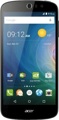 Acer Liquid Z530 16GB Unlocked GSM 4G LTE Quad-Core Smartphone w/ Dual 8MP Cameras - Black