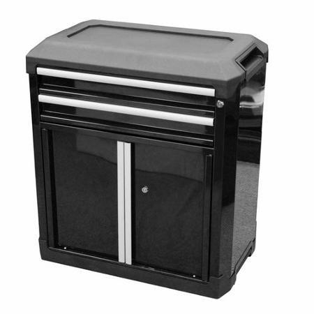 Modular Storage 2-Drawer 2-Door Cabinet, Steel Drawer - Buy