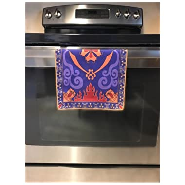 Placemat Magic Carpet Dish Towel Hand Towel Face Towel Tea Towel Inspired by Disney Aladdin Magic Princess Whitney