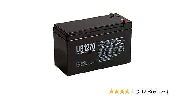 Amazon com: UPG Security Alarm System Battery 12V 7 2Ah SLA