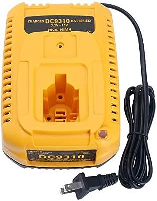 Qbmel DC9310 - Cargador rápido de batería para Dewalt 7.2V ...