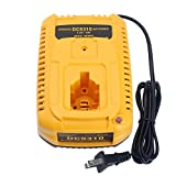 Qbmel DC9310 Fast Battery Charger for Dewalt 7.2V-18V XRP NI-CD NI-MH Battery DC9096 DC9098 DC9099 DC9091 DC9071 DE9057 DW9096 DW9094 DW9072