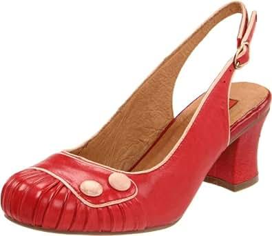 Miz Mooz Women's Emily Pump,Red,6 M US