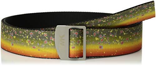 Mountain Khakis Unisex Trout Webbing Belt, Brook Trout, One Size