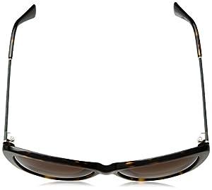 Cole Haan Women's Ch7005s Square Sunglasses, Dark Tortoise, 58 mm