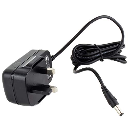 MyVolts 5V power supply adaptor compatible with Roberts Play 10 DAB Radio – UK plug