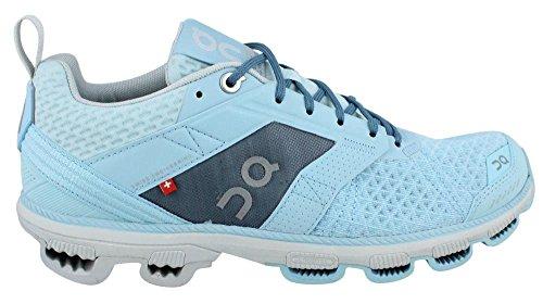 ON Damen Cloudcruiser Sneaker Aqua / Mond