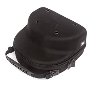 Homiegear Brand Carrier Case, 2 Hats, Caps, Snap Back, Fitted, Black