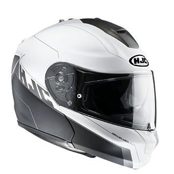 Motocicleta Casco Hjc Rpha Max Evo Zoom Walt MC de 10sf Negro de color blanco Talla