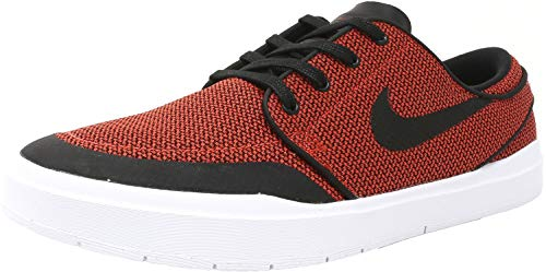 Nike Men's Stefan Janoski Hyperfeel Xt Max Orange/Black Ankle-High Skateboarding Shoe - 8M
