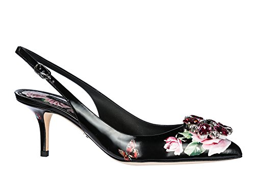 Dolce & Gabbana Damesschoenen Pumps Pumps Hak Bellucci Zwart Zwart