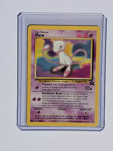 Pokemon - Mew (8) - Wizards Black Star - Promo Set Card Movie