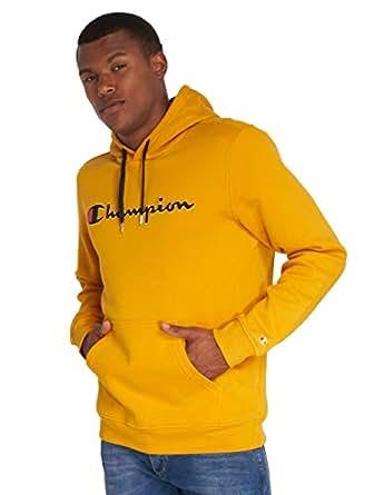Champion Hooded Sweatshirt For Men - Yellow XL, 212064YS016