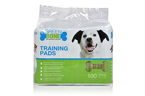 (Greenbone Puppies & Indoor Dogs Training Pads 100 Count)