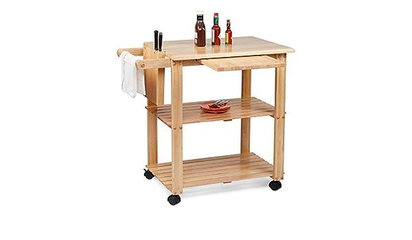 Civet Home TB07-0201-001-SG-A04 - Carrito de Cocina, Color ...