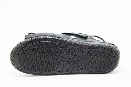 Pelle Nero Donna in KS 405 Scarpe Sandali da estive TO0qT6
