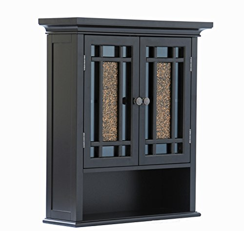 Elegant Home Fashions Whitney Wall Cabinet with 2 Doors and 1 Shelf by Elegant Home Fashions (Image #2)