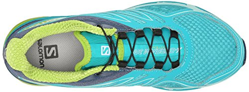 F Scream de X Blue Salomon Running Slateblue Green para 3D Trail Azul Mujer Zapatillas Teal Granny 1aqpUA7xw
