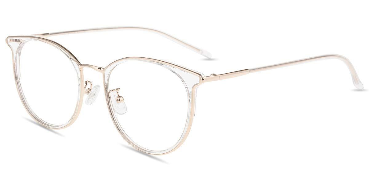 Anti Blaulicht Computer Brille ohne Sehst/ärke Mittel Gr/ö/ße Kratzfest Blendfrei Retro Nerdbrille Blaulichtblockierend Firmoo Panto Blaulichtfilter Brille f/ür Damen//Herren