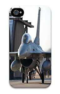 iPhone 4s Case and Cover - Fighter Jet Custom PC Hard Case Cover for iPhone 4/4S 3D