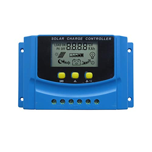 Huine 20amp Pwm Solar Charge Controller With Lcd Display