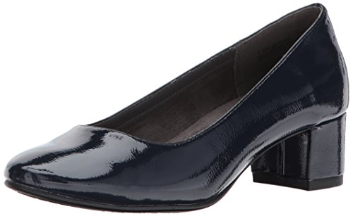 Aërosolen A2 Vrouwen Notepad Dress Pump Navy Patent
