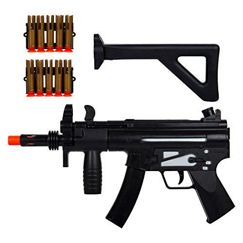 ibobby, SWAT MP5 Air Gun Set, 18 inches, Black -