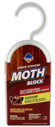 IMS Trading Cedar Scented Hanging Moth Block, 6-Ounce, Box of 6
