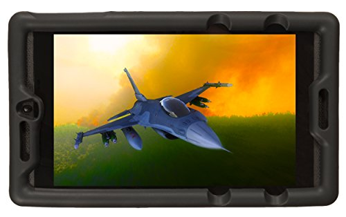 Bobj Rugged Case for NVIDIA Shield Tablet K1 - BobjGear Custom Fit - Patented Venting - Sound Amplification - BobjBounces Kid Friendly (Bold - Fit Custom Shield Armor
