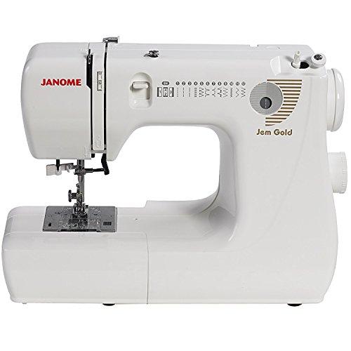 Janome Jem Gold 660 12-Stitch Compact Lightweight Sewing ...