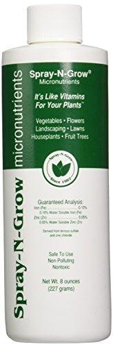 Spray-N-Grow 1CSNG8 Micronutrients, 8-Ounce