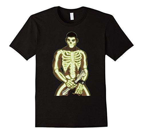 Halloween Costume Ideas Best (Mens Skeleton Boner Popular Halloween Costume Idea Large Black)