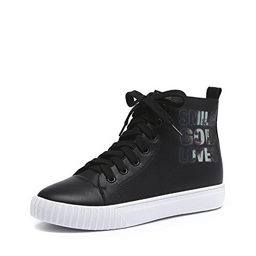Le Fu/Cabeza redonda con zapatos de boca profunda A