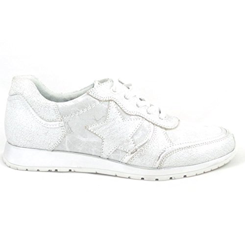 Marco Tozzi - Zapatillas para mujer plateado plata