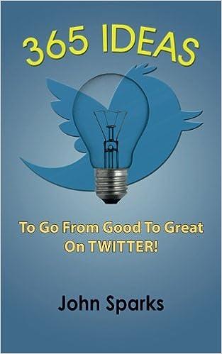 365 Ideas To Go From Good To Great On TWITTER!: Amazon.es: John Sparks: Libros en idiomas extranjeros