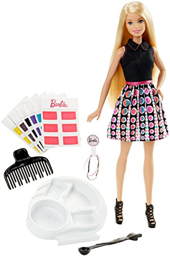 Barbie Spring Hair Feature Doll, Multi Color