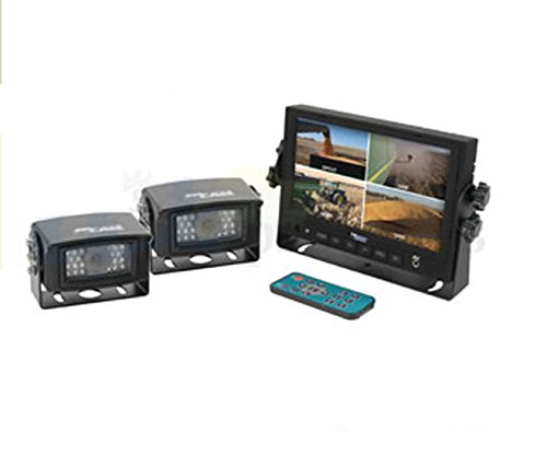 CC7M2CQR CabCAM Quad Video Weatherproof Expandable Camera System