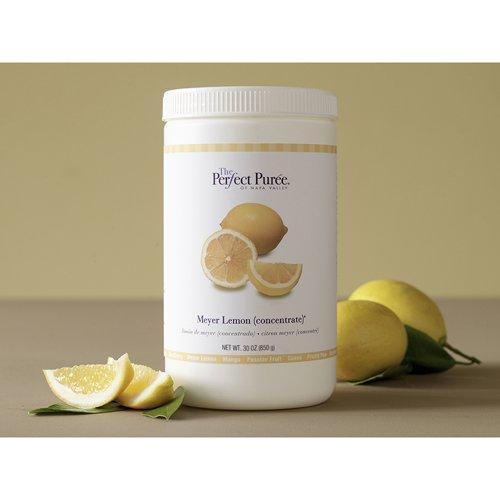 Meyer Lemon Concentrate Puree Frozen - 6 x 30 Oz Case