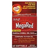 Omega-3 Krill Oil Softgel, 65 Count, Sold as 1 Each